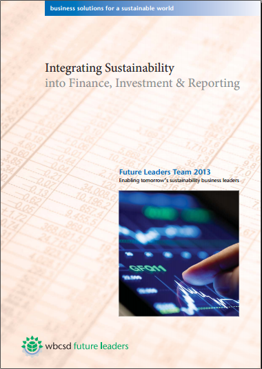 Integrating Sustainability into Finance, Investment & Reporting