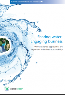 Sharing Water - Engaging Business